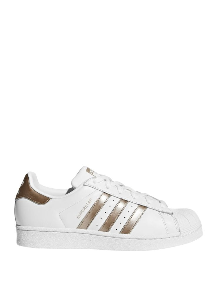 best website 7519a d72f5 Womens Superstar Leather Low Top Sneakers