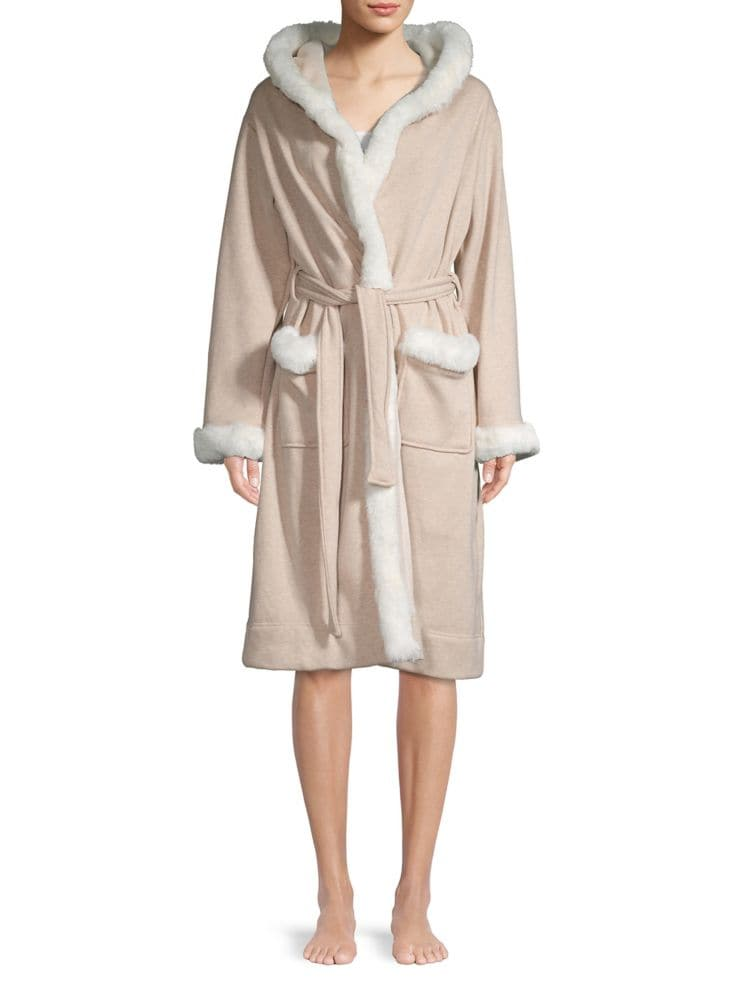 be0dc6fa5c UGG - Duffield Faux-Fur Deluxe Robe - thebay.com