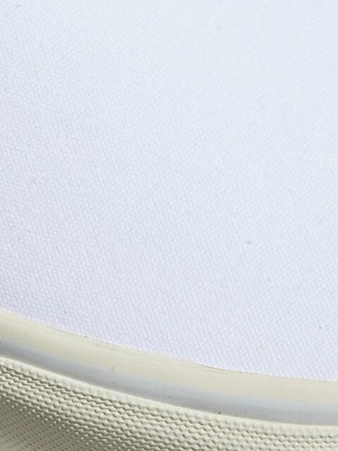 Polo Ralph Lauren Chaussures sport en toile de coton BLANC