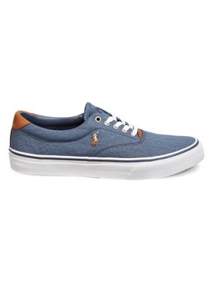 c77988957c Polo Ralph Lauren - Thorton Washed Twill Sneakers