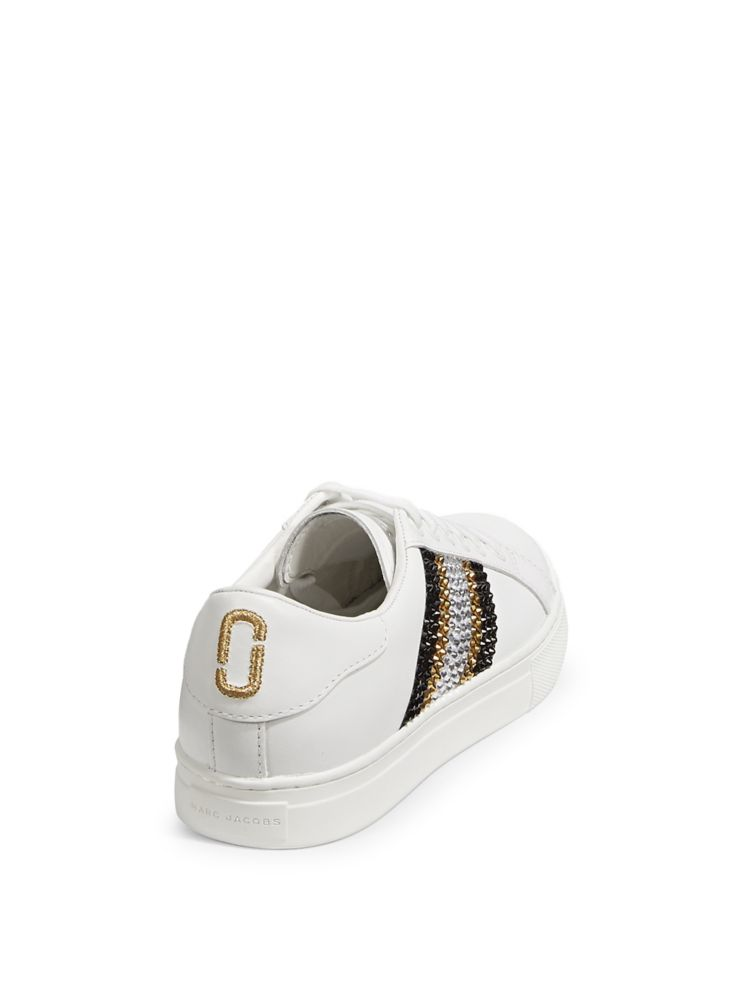6b72b10f77c227 Marc Jacobs - Bedazzled Stripe Empire Sneakers - thebay.com