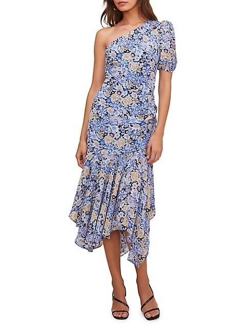 ASTR The Label Santorini Asymmetric Dress