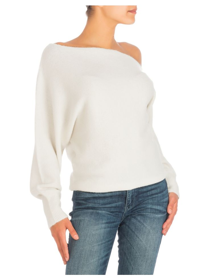 29942311a GUESS - Catrina Off-The-Shoulder Sweater - thebay.com