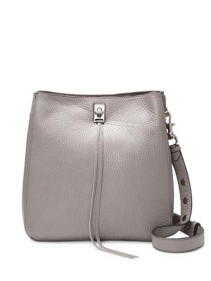 ecc0d9eea45d Darren Leather Shoulder Bag GREY. QUICK VIEW. Product image