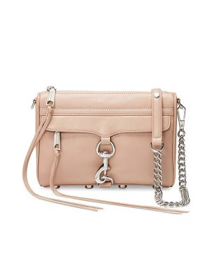54e2f28d5 QUICK VIEW. Rebecca Minkoff. Mini Mac Doe Leather Crossbody Bag