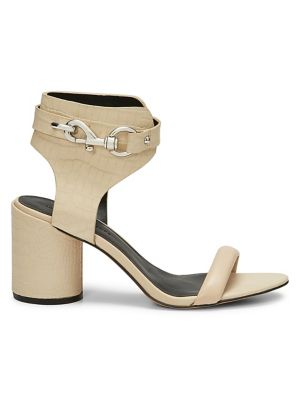 321641c99 Malina Leather Heeled Sandals CLAY. QUICK VIEW. Product image