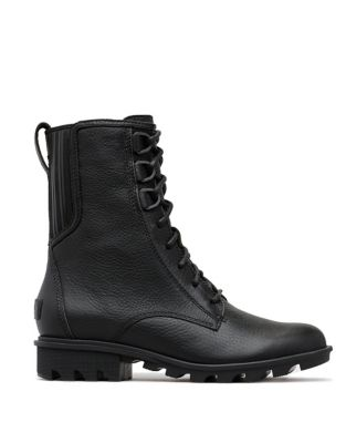 Phoenix Lace Waterproof Leather Boots by Sorel