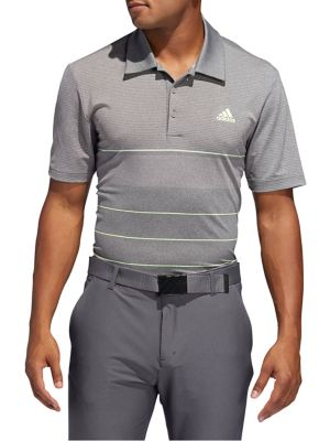 482e6adff82f QUICK VIEW. Adidas Golf. Ultimate365 Heathered Stripe Polo