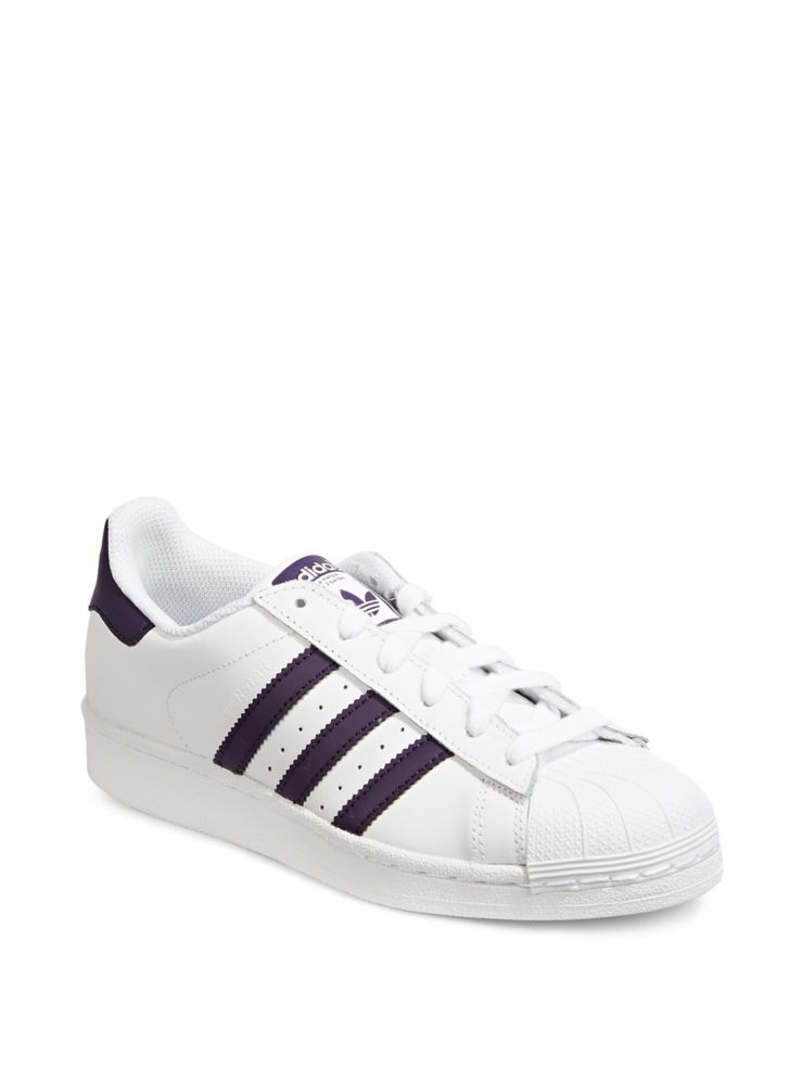 new product 3900f 12702 Womens Superstar Leather Sneakers