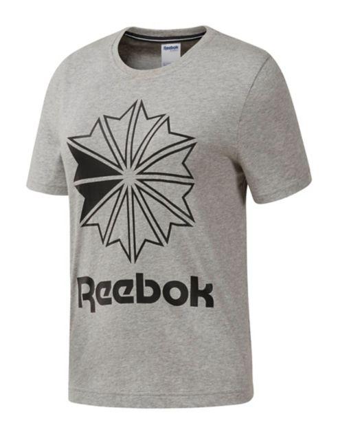 en shirt Classics T coton grand Reebok à logo 3R54AjL
