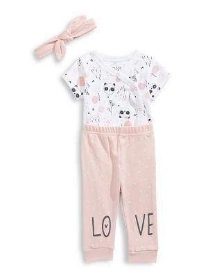 fec2e955b126 3-Piece Baby Girl s Bodysuit Set PINK. QUICK VIEW. Product image