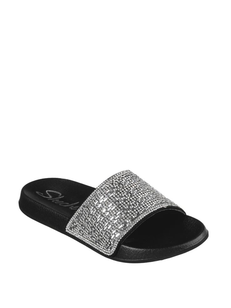 vivid and great in style choose authentic complete in specifications Skechers - 2nd Take Summer Chic Slides - thebay.com
