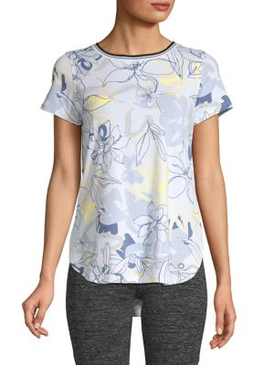 d7e1a6ad QUICK VIEW. Calvin Klein Performance. Floral-Printed T-Shirt