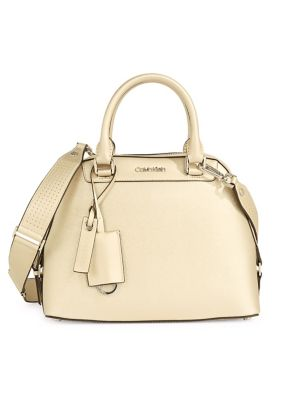 87826d5b29 Product image. QUICK VIEW. Calvin Klein. Leather Crossbody Satchel.   318.00. Crossbody Wristlet Bag BROWN