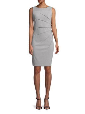 4e778a7be0c QUICK VIEW. Calvin Klein. Starburst Sleeveless Sheath Dress