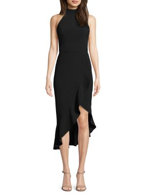 e56bfc5e QUICK VIEW. Xscape. Halterneck Ruffled Sheath Dress