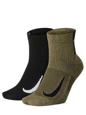 QUICK VIEW. Nike. Two-Pack Multiplier Running Ankle Socks 5d096956ff735
