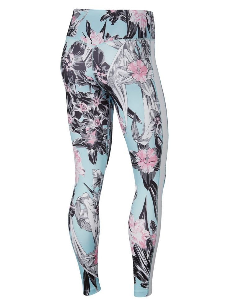 d6ad16b48be15 Nike - Training Floral Print Tights - thebay.com