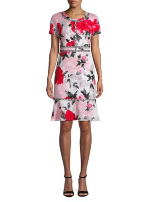 c89a42b32b9 QUICK VIEW. Karl Lagerfeld Paris. Floral Sheath Dress