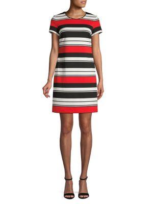 043e5ccfe05 Product image. QUICK VIEW. Karl Lagerfeld Paris. Striped Shift Dress.   139.00 Now  104.25 · Floral Mini Sheath Dress NAVY. QUICK VIEW