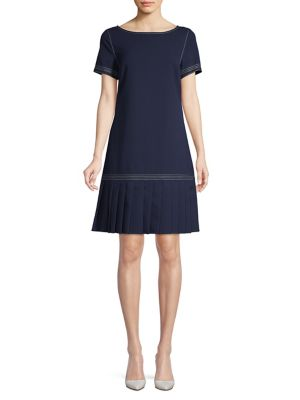 160e4176c QUICK VIEW. Karl Lagerfeld Paris. Pleated Hem Flounce Dress