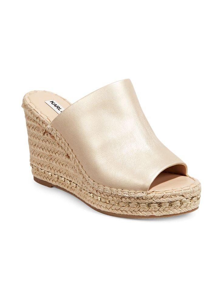 d19ebcc1ca Karl Lagerfeld Paris - Carina Espadrille Wedge Sandals - thebay.com