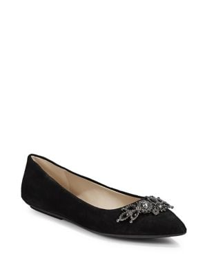 f352fda5d5f1 QUICK VIEW. Karl Lagerfeld Paris. Classic Suede Flats