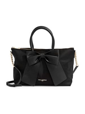 Kris Bow Crossbody Bag BLACK. QUICK VIEW. Product image
