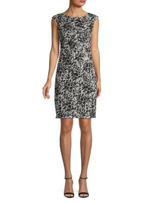 24e5cd48 QUICK VIEW. Eliza J. Sleeveless Embellished Lace Sheath Dress
