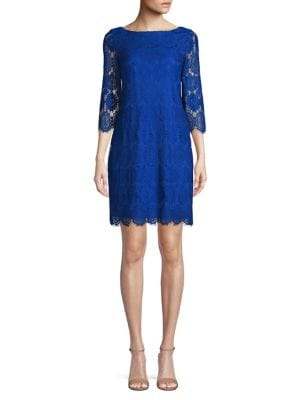 da82e1d482e QUICK VIEW. Eliza J. Floral Lace Shift Dress