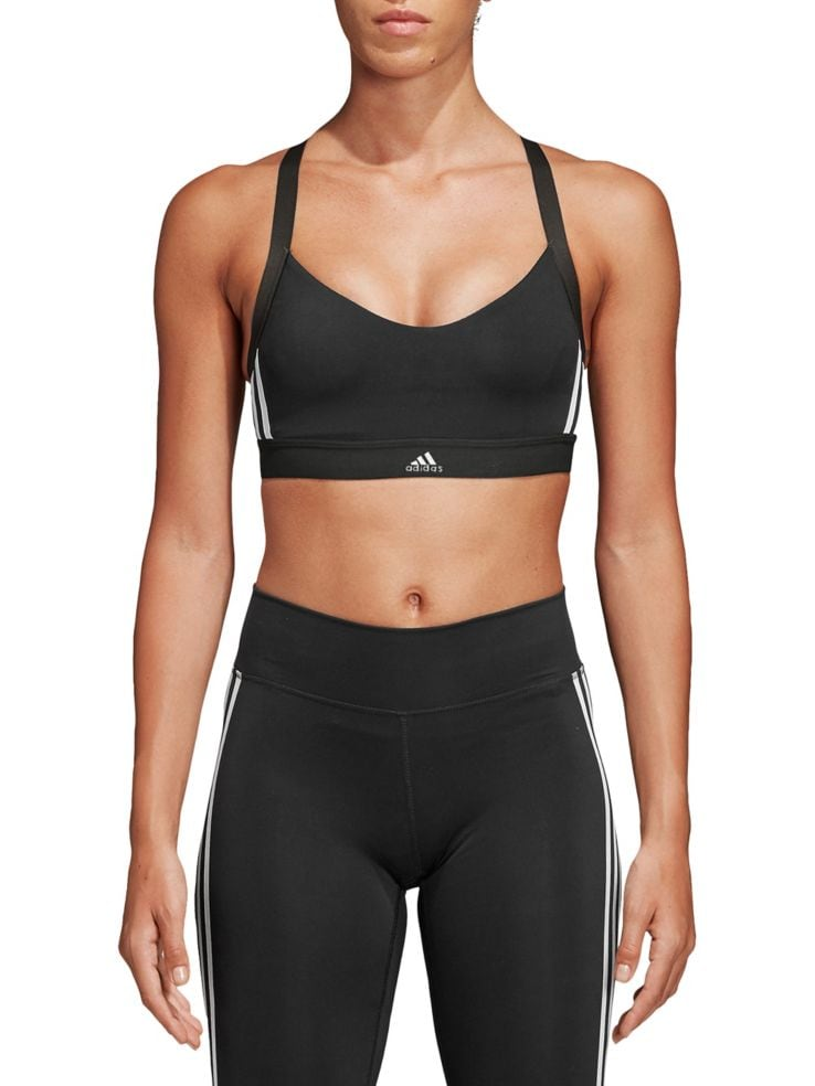 2018 shoes reasonable price large discount Adidas All Me 3-Stripes Sports Bra