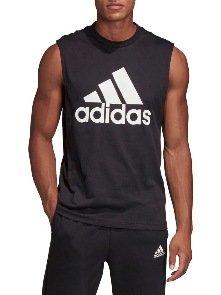 876c9a1b89f216 Adidas - Must Haves Badge of Sport Tank Top - thebay.com