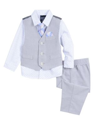 21f822654 QUICK VIEW. Nautica. Little Boy's Polka Dot Oxford Shirt ...