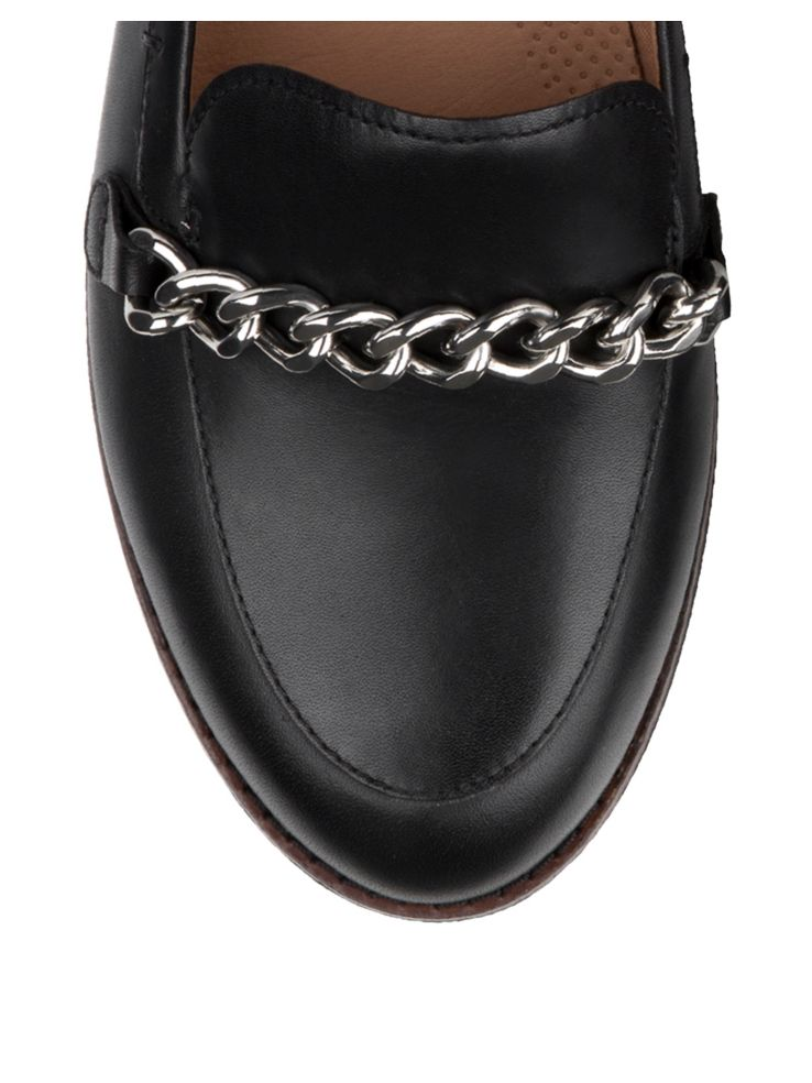 92b99df8218885 Fitflop - Petrina Chain Leather Loafers - thebay.com