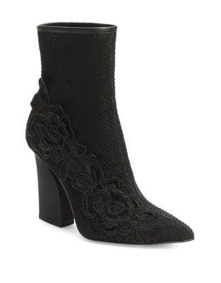 Mina Knit Sock Boots by H Halston