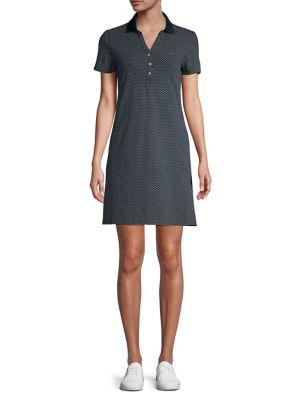 5d7567d98b5 QUICK VIEW. Tommy Hilfiger. Pindot Polo Dress