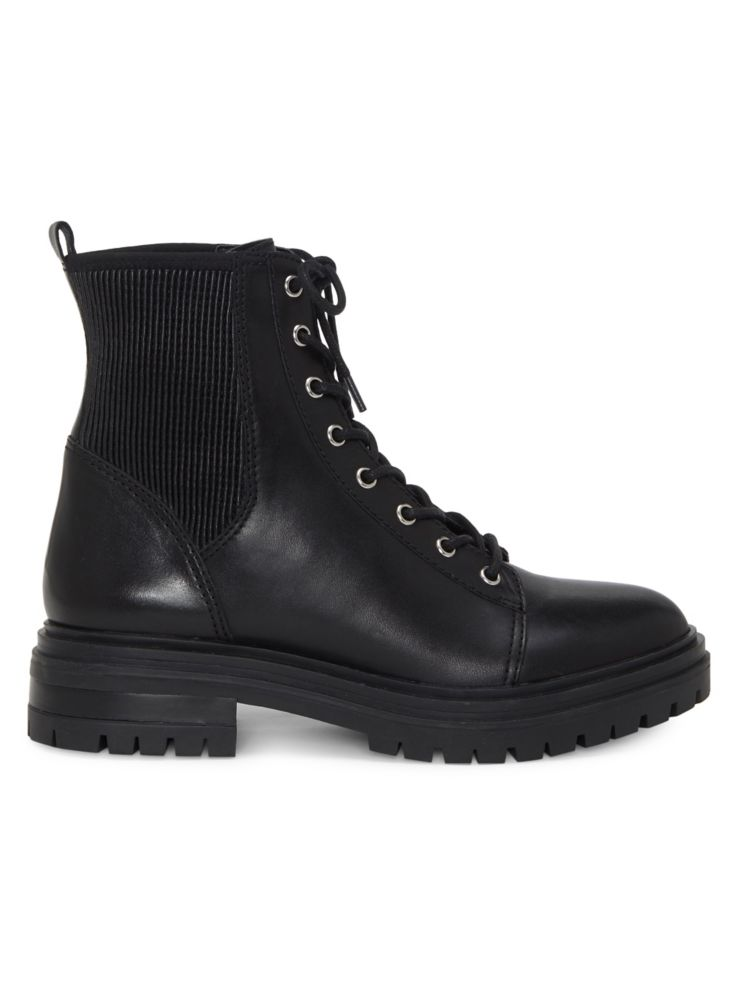 Bestenda Leather Combat Boots by Vince Camuto