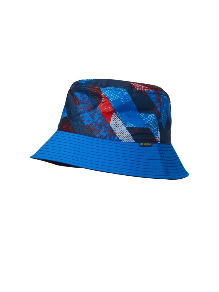 7faf0053def Columbia - Kid s Pixel Grabber Reversible Textured Poplin Bucket Hat ...