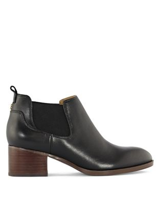 Stacked Heel Booties by Tommy Hilfiger