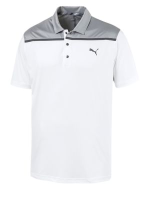 841c4060d39 QUICK VIEW. Puma Golf. Logo Colourblock Polo