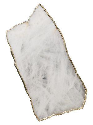 Anthropologie Agate Stone Cheeseboard
