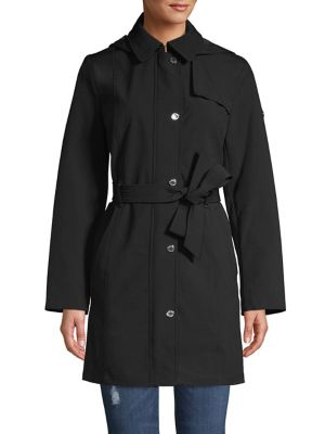 45bfdc357ceac QUICK VIEW. Calvin Klein. Hooded Trench Coat