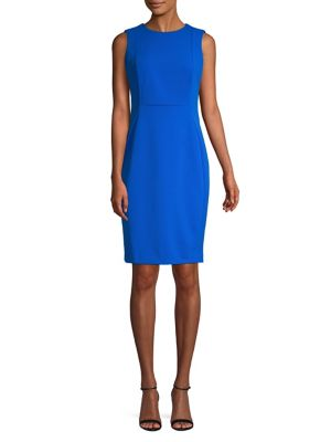 c1cc785f7cf Product image. QUICK VIEW. Calvin Klein. Sleeveless Sheath Dress