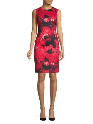 cc2b5bbf354e7 Product image. QUICK VIEW. Calvin Klein. Floral Sheath Dress