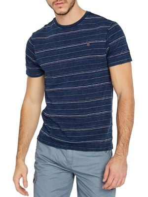 3347f838a267 Product image. QUICK VIEW. Buffalo David Bitton. Koband Stripe Cotton Tee
