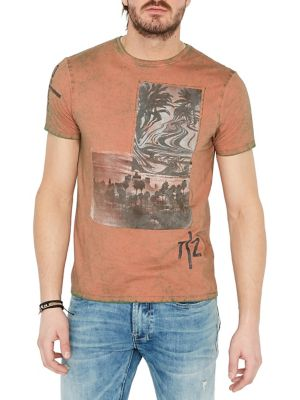 a8901949b104 Product image. QUICK VIEW. Buffalo David Bitton. Graphic Short-Sleeve Cotton  Tee