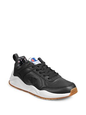 fb5658a254f QUICK VIEW. Champion. Men s Logo Leather Sneakers