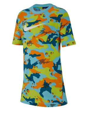 9f2020699 Product image. QUICK VIEW. Nike. Boy's Multicoloured Camouflage Cotton Tee