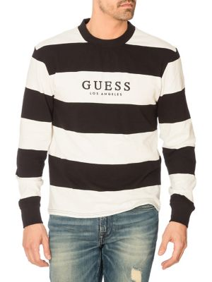 931405a1b0ce QUICK VIEW. GUESS. Originals Varsity Stripe Long Sleeve Tee