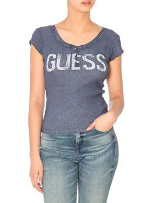 b8c23e25a439 GUESS | Women - Women's Clothing - Tops - thebay.com